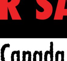 Occupy Canada - With Facebook Link Sticker