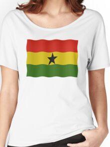 Ghana Flag Women's Relaxed Fit T-Shirt