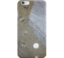 bicycling on the beach iPhone Case/Skin