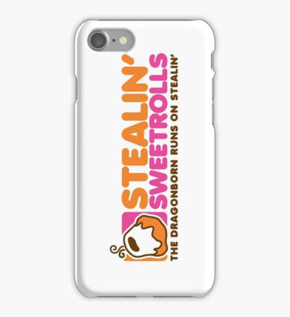 Stealin' Sweetrolls iPhone Case/Skin