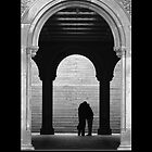 A KISS UNDER THE ARCH, CENTRAL PARK, NY by PhotoIMAGINED