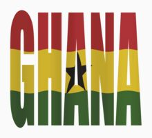 Ghana + flag Kids Tee