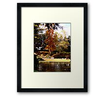 Fall Waterscapes III Framed Print