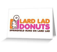 Lard Lad Donuts Greeting Card