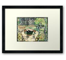 road less travelled Framed Print