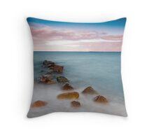 North Sea Throw Pillow