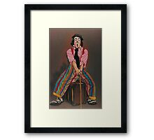 Stripes! Framed Print
