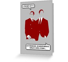 The Kray Twins - Legend Greeting Card