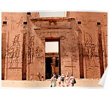 Edfu Temple of Horus Poster
