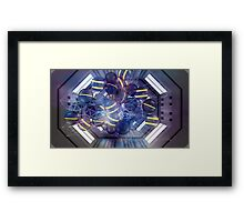 Eric of Gen - Abstract CG Framed Print