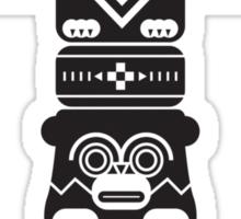 Totem Pole Sticker