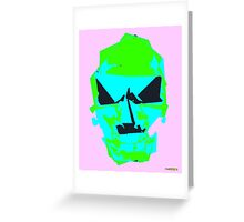 Turquoise Saturday Greeting Card
