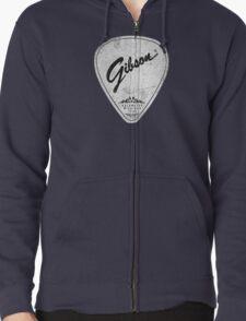 Legendary Guitar Pick Mashup Version 01 Zipped Hoodie