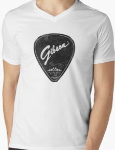 Legendary Guitar Pick Mashup Version 02 Mens V-Neck T-Shirt
