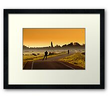 Streetlife Framed Print