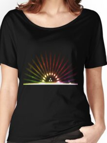Rainbow Triforce Women's Relaxed Fit T-Shirt