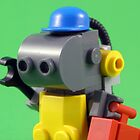 lego robot - colour by YourHum