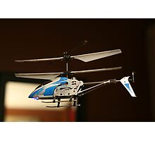 Toy Helicopter - In flight! Photographic Print