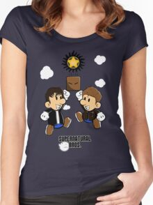 Supernatural Bros. Women's Fitted Scoop T-Shirt