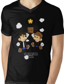 Supernatural Bros. Mens V-Neck T-Shirt