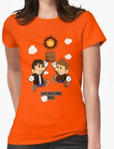 Supernatural Bros. Womens Fitted T-Shirt