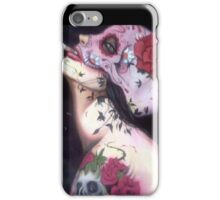 my lady 02 iPhone Case/Skin