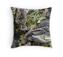 Pump-keen 81 wrinkle Throw Pillow