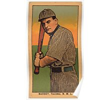 Benjamin K Edwards Collection Bassey Tacoma Team baseball card portrait Poster