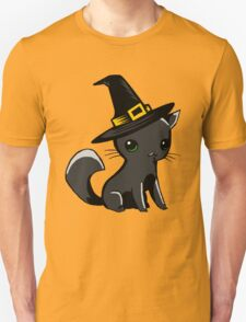 Myu the Candyfloss Cat... on Halloween! Unisex T-Shirt