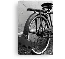 """Supreme"" Vintage Bicycle Canvas Print"