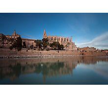 Palma Cathedral Mallorca Photographic Print