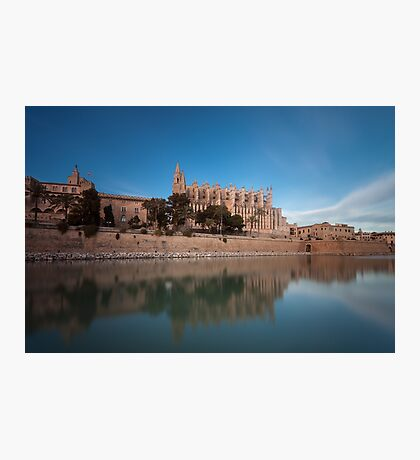 Palma Cathedral Mallorca Photographic Print