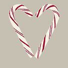 Candy Cane Heart by Vicky Webb