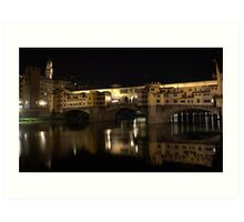 The Ponte Vecchio Art Print