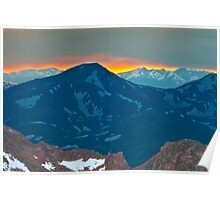 Mount Spaulding Colorado Poster