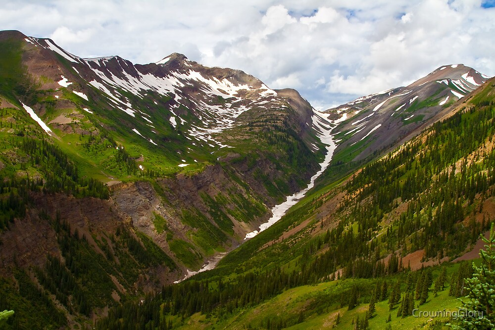 Slate River Headwaters by CrowningGlory
