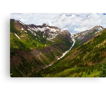 Slate River Headwaters Canvas Print