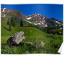 Ruby Range Above Lake Irwin Poster