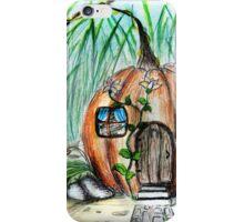 Pumpkin House iPhone Case/Skin