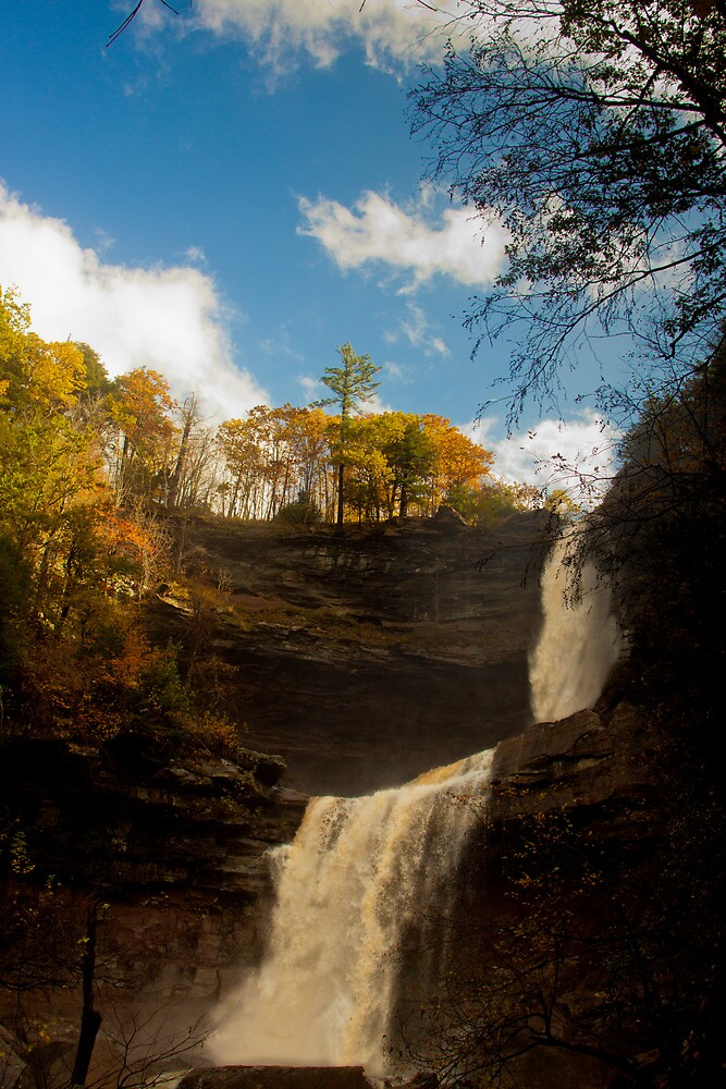 Kaaterskill Falls  by Dave Bledsoe