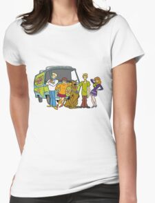 The Scooby Gang Womens Fitted T-Shirt