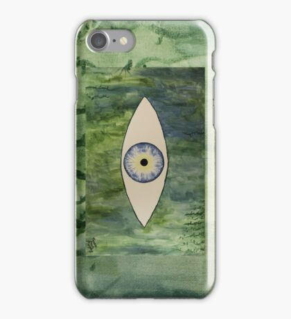 Sea Monster Eye     (full image of painting) iPhone Case/Skin