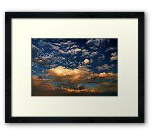 Cloud 082811-24 Framed Print