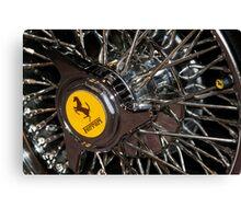 Ferrari Wheel Canvas Print