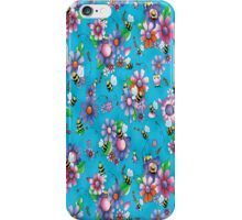 Flowers & Bees iPhone Case/Skin