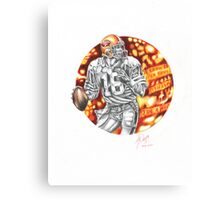 SUPER!  (JOE MONTANA) Canvas Print