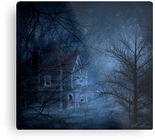 Haunted Place Metal Print