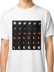 2015 Lunar Eclipse Matrix Classic T-Shirt