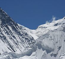 South Col of Everest by Jan Vinclair