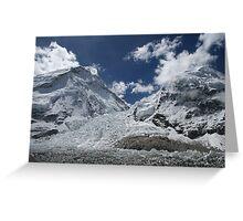 Khumbu Icefall Greeting Card